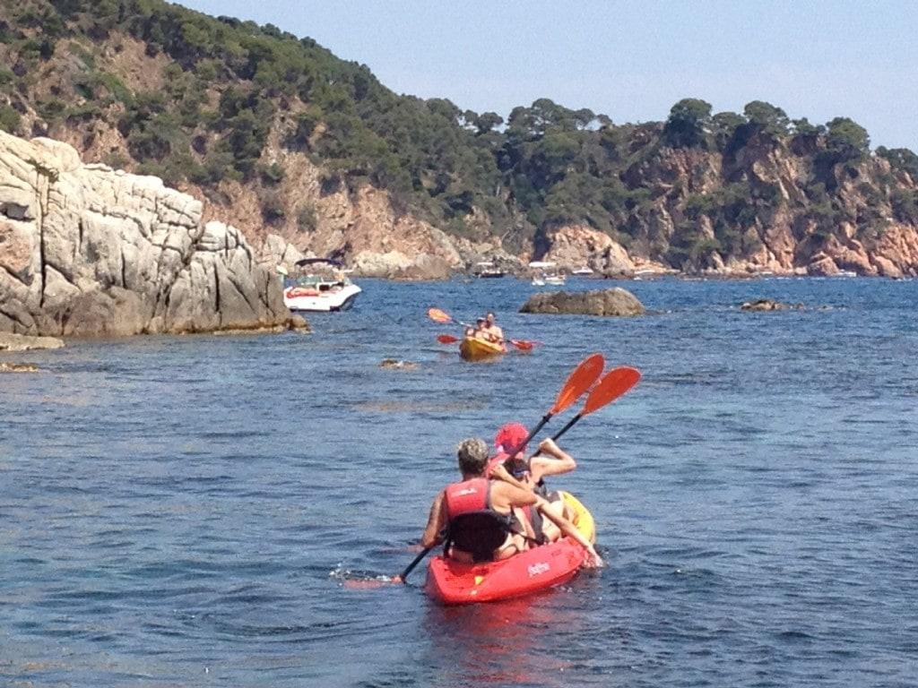 Kayaking a la Costa Brava
