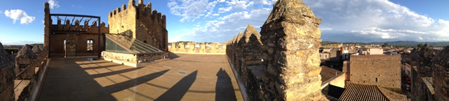 Panoràmica Castell La Bisbal