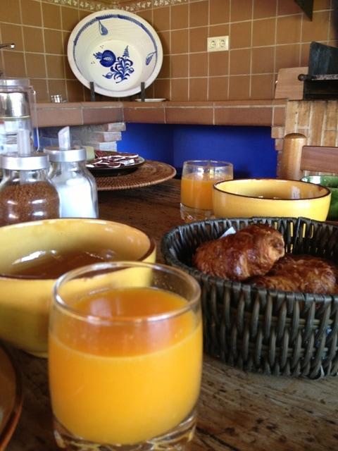 Esmorzar a la casa rural Mas Petit