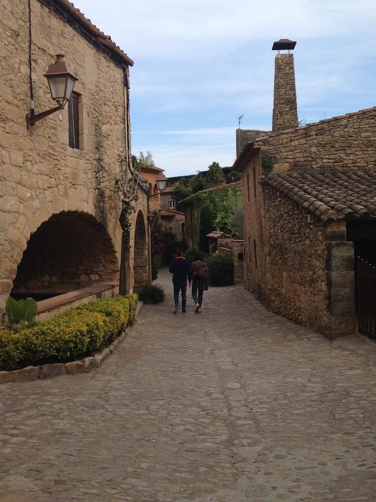 carrers medievals de Peratallada