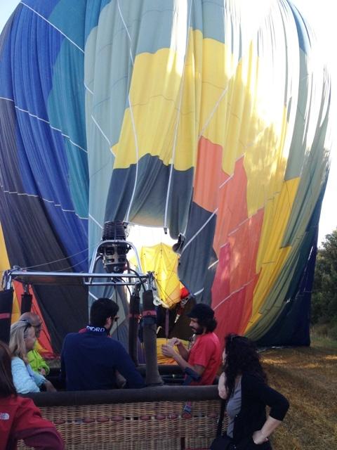volando en globo se aprenden muchas cosas